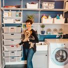 From Complete Disaster To Awesome Laundry Room