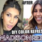 DOES IT WORK?? TRYING MADISON REED COLOR REFRESHING GLOSS!   DIY HAIR COLOR REFRESH AT HOME!