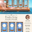 Are you ready for SWINGS???  🌸    🌸    🌸 I decorated my pier and a small picnic area, watch the speed build to get also the other codes😊