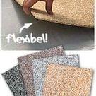 Natursteinteppich / Steinteppich aus flexiblen Bodenfliesen