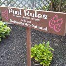 Pool Decorations