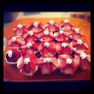 Strawberry Pound Cakes