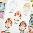 21 Easy Step-by-Step Watercolor Tutorials for Beginners - Beautiful Dawn Designs