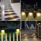 Wasserdichte Solarlampe für den Außenbereich