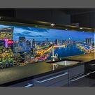 Bestseller - LED Küchenrückwand mit austauschbarem Motiv