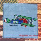Sopwith Camel WWI Airplane Cross Stitch Pattern PDF