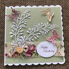 Butterfly Happy Birthday Card | Etsy