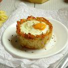 Healthy Monte Cristo Hash Brown Breakfast Egg Cups Recipe