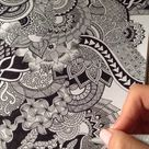 How To Zentangle