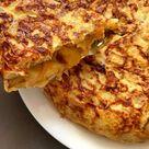 Tortilla de patatas con cebolla caramelizada - Tasty details