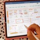 2021 Digital planner   Digital Planner Goodnotes   Digital Planner stickers   Digital Planner