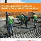 The Contractors Guide to Quality Concrete Construction, 4th Edition