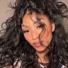Curly Half Up 🥰