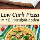 Low Carb Pizza mit Blumenkohl Pizzaboden - WOMZ