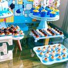 Bluey themed birthday party . #blueyparty #aniversariobluey