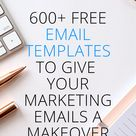 600+ free email templates to give your marketing emails a makeover