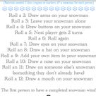 Snowman Game & Printable