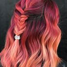 50 Stunning Rainbow Hair Color Styles Trending Now