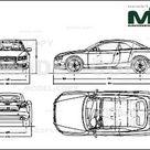 Audi A5 Cabrio 2009   Disegno 2D   30110   Model COPY   Italiano