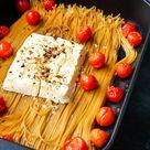 Spaghetti mit Feta und Tomaten aus dem Ofen - schneller geht's nicht!