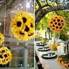 Sunflower Wedding Themes