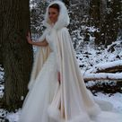Fur Cloak (Hire) - Brides of Southampton