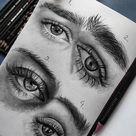 Learn how to draw realistic eyes in 10 easy to follow steps
