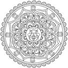 Hamsa Hand - Mandalas Coloring Pages for Adults - Just Color