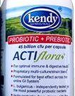 Acti Flora+ Prebiotic 45bil-cap 100 CAP