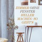 Wie Sie ein Zimmer ohne Fenster heller machen können | freundin.de