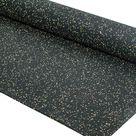 Fleckz Premium Rubber Gym Flooring Roll - Various Colours - 6mm / Orange