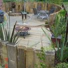 23 Simply Impressive Sunken Sitting Areas For A Mesmerizing Backyard Landscape