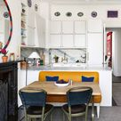 A tiny flat in London with ingenious interiors by Beata Heuman