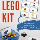 Travel LEGO Kit (With 32 FREE Printable Activity Cards!)   Chaos & Quiet
