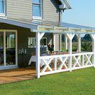 Terrassendach VeraSkan 5025 aus Holz