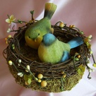 Bird Wedding Cakes