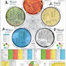 Five Elements Acupuncture Poster 18 X 24   Etsy
