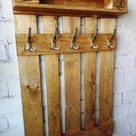 28 Eye Candy Coat Rack Ideas You Will Be Hooked On