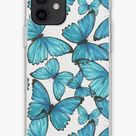 Butterfly PERSONALISED Phone Case  for iPhone, Samsung, iPhone 11, iPhone XR, iPhone 8, Samsung S20, S10, S9, S8