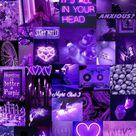 #wallpaper #fondosdepantalla #morado #purple #purpleneon #collage #imagenes #images #aesthetic #aestheticpurple  #freetoedit