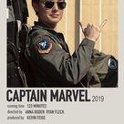 Captain Marvel polaroid movie poster