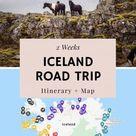 2 Week Iceland Itinerary - Epic Road Trip Adventure | Moon & Honey Travel