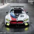 BMW M8 GTE Racecar 2018 Poster. ID1321483