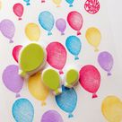 Balloon rubber stamps  party balloon stamps  hand carved   Etsy