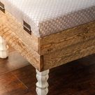 This Beautiful DIY Storage Ottoman Will Make You Want To Build One of Your Own - Life Storage Blog