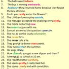 30 Adverb Sentences, Example Sentences with Adverbs in English - English Study Here