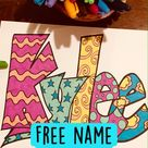 Free name coloring
