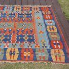 Tapis Kilim Amazing Rugs 5'2 x 7'1   Etsy