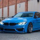 Striking Yas Marina Blue BMW M4 gets some visual upgrades