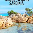 The Most Epic Things to do in Sardinia
